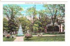 Menomonie Wisconsin Vintage Postcard Lot by PicturesFromThePast