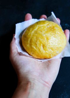 brown butter pumpkin bun