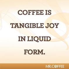Coffee always brings joy!
