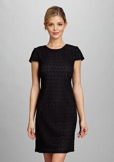 Love this little black dress by Suzi Chin!