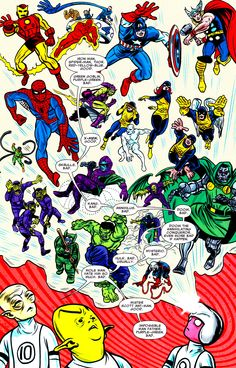 Rule Of The Costume: Primary Colors, Good Guy / Secondary Colors, Bad Guy (FF #12, Art by Mike Allred, Words by Lee Allred)