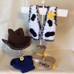 Crochet Toys For Boys Crochet Toy Story Woody Set/Newborn Photo Prop/Infant Halloween Costume/Baby Shower Gift/Cake Smash/ - Crochet Baby Costumes, Crochet Baby Clothes, Newborn Crochet, Crochet Toys, Crochet Baby Outfits, Halloween Bebes, Baby Halloween Costumes, Infant Halloween, Disney Halloween