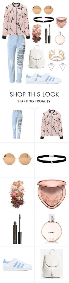 """random"" by emmapatsaunders ❤ liked on Polyvore featuring Zhenzi, Victoria Beckham, Amanda Rose Collection, Sigma, Too Faced Cosmetics, NYX, Chanel, adidas, Everlane and Eloquii"