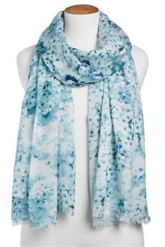 Buy Soft Brushed Floral Print Scarf from the Next UK online shop
