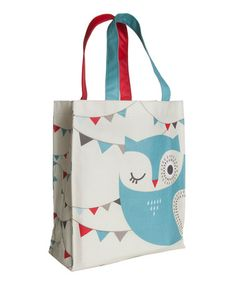 Take a look at this Hoot Tote by danica on #zulily today!