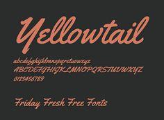 Tipografía Yellowtail para descargar