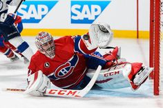 Montreal Canadiens goalie Carey Price wins Lou Marsh award as Canada's top athete for Goalie Pads, Goalie Gear, Hockey Goalie, Hockey Players, Ice Hockey, Montreal Canadiens, Mtl Canadiens, Lightning Game, Nhl Awards