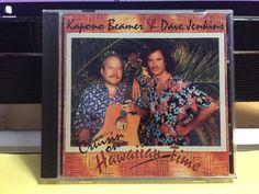 Rare Hawaiian Music CD: Kapono Beamer & Dave Jenkins: Cruisin on Hawaiian Time #HawaiiPacificIslands