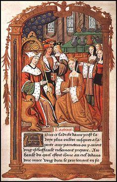 Wedding of Mary Tudor and Louis XII of France- British Library Queen Mary Tudor, Marie Tudor, Dinastia Tudor, Tudor Rose, Tudor Style, Tudor History, European History, British History, French History