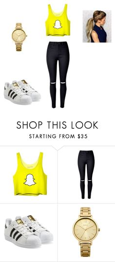 """Untitled 2"" by maddiemohr on Polyvore featuring adidas Originals and Oasis"
