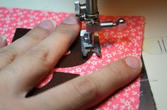 Sewing Curves Tutorial:  This applies to appliques, but good to know for other items as well.