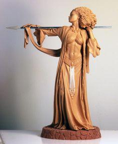 Blackshear's Amazon by TKMillerSculpt.deviantart.com on @deviantART