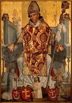 St Stanislaus (1030-1079), patron saint of Poland
