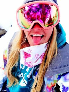 Shred the snow in style in SPY snow goggles for women! $110
