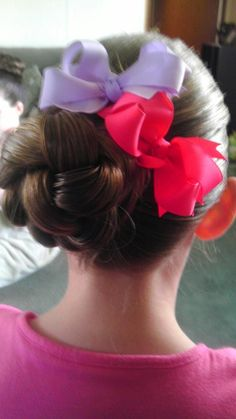 Easy Updo on a child