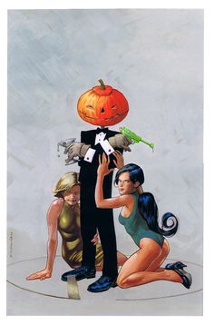 Merv Pumpkinhead: Agent of Dream by Kevin Nowlan