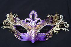 ON SALE Masquerade Mask Venetian White / by MasquerademaskStudio