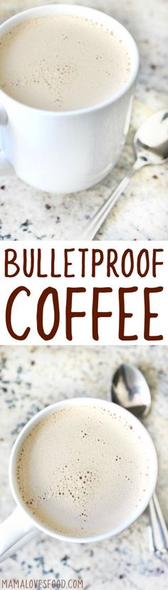 i'm so addicted to this stuff!!! Learn how to make delicious and simple Bulletproof Coffee with this easy recipe! Just good coffee, butter, and coconut oil!