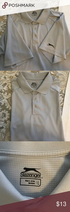 Men's grey Slazenger golf polo Excellent condition. Dry-fit Callaway Shirts Polos