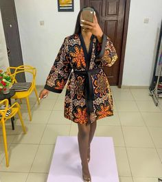 African Shirt Dress, African Wear Dresses, Latest African Fashion Dresses, African Print Fashion, Africa Fashion, African Attire, African Hair, Ankara Fashion, Latest Ankara Short Gown