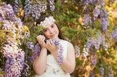 Niñas de Comunión - Alba Soler Fotografía - Xàtiva - Valencia Alba Soler, Valencia, Girls Dresses, Flower Girl Dresses, Crown, Wedding Dresses, Photography, Beauty, Fashion