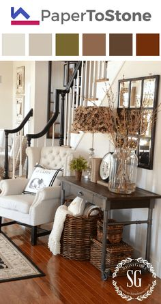 Are you a farmhouse style lover? If so these 23 Rustic Farmhouse Decor Ideas wil. Are you a farmhouse style lover? If so these 23 Rustic Farmhouse Decor Ideas will make your day! Check these out for lots of Inspiration! Rustic Farmhouse Decor, Rustic Entryway, Farmhouse Style, Modern Farmhouse, Rustic Decor, Entryway Ideas, Rustic Modern, Entry Foyer, Farmhouse Ideas