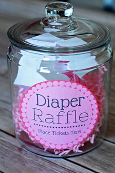 Free diaper raffle printables for you next baby shower (pink or blue). You can tell your guests about the raffle before hand, or you can leave it a surprise for whoever happened to include diapers in their gift.