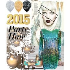 """party hair"" by diaparsons on Polyvore"