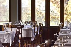 is a 5 star boutique hotel in Stellenbosch. This top Stellenbosch guest house offers luxury Stellenbosch accommodation in the beautiful Cape Winelands, South Africa. Fine Dining, South Africa, Table Settings, Table Decorations, Eat, Interior, Modern, Restaurants, House