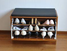 meuble de chaussures - tabouret par Arredokit