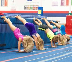 My child isn't very coordinated so she should not do gymnastics. (You could also substitute strong or flexible for coordinated.) All the more reason your child should do gymnastics! Gymnastics work…