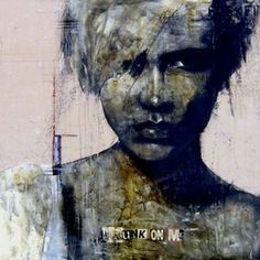 Guy Denning (born is a self taught English contemporary artist and painter based in France. He is the founder of the Neomodern. Abstract Painters, Abstract Drawings, L'art Du Portrait, Figurative Art, Contemporary Artists, Illustration, Street Art, Guys, Artwork