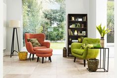 Interior inspired by spring from botanical gardens to a breath of seashore