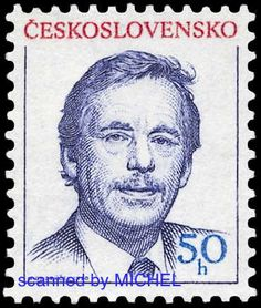 postage stamp in his honor Stamp Collecting, Czech Republic, Postage Stamps, Famous People, Presidents, European Countries, Seals, Author, Fotografia
