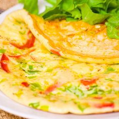 Mexican Omelet made with Heluva Good!® Jalapeño Cheddar Dip