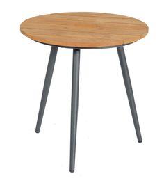 SonnenPartner Tisch GALA Teak Holz Aluminium in zwei Größen Aluminium, Modern, Table, Furniture, Home Decor, Products, Lounge Furniture, Ad Home, Dekoration
