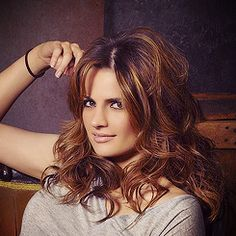 Love the color, minus the roots.Det. Beckett