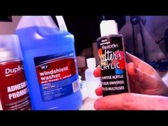 Craft Acrylics & Mixing A 50/50 Formula For Airbrushing - YouTube