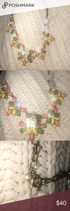 J crew necklace J crew necklace  gorgeous statement piece just need a polish cloth J Crew Jewelry Necklaces