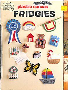 Free Plastic Canvas Magnet Patterns | Plastic Canvas Fridgies, Patterns for Magnets (Plastic Canvas) at ...