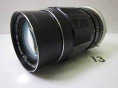 LS811BC MINOLTA MC TELE ROKKOR-QD F3.5 135mm ジャンク_画像1
