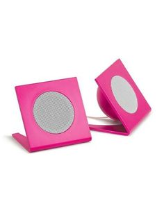 I found 'No Batteries Universal Square Stereo Speakers' on Wish, check it out!