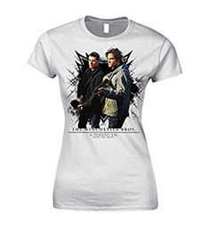 Official Skinny White T Shirt Supernatural WINCHESTER Bros All Sizes - See best price on Amazon uk