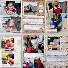 Project Life - Week 8 (right page)