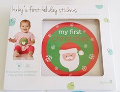 Babys first holiday stickers  14 stickers to celebrate babys first holidays -- Want to know more, click on the image.