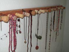 1000 images about colgadores para collares y pulseras on pinterest door knobs plywood and - Colgador de collares ikea ...