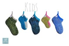The hand knitted wool Socks That Rocks!
