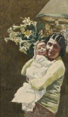 Walter Sickert - Mrs van Beuren and Child