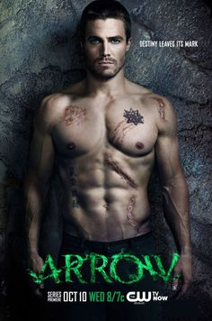 Stephen Amell.  tv show Arrow. I don't like comic books, or things based on them, but i'll see where this show goes...he's hot in the action scenes.