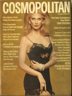 Cosmopolitan magazine, AUGUST 1972  Model: Kathy Speirs Photographer: Francesco Scavullo